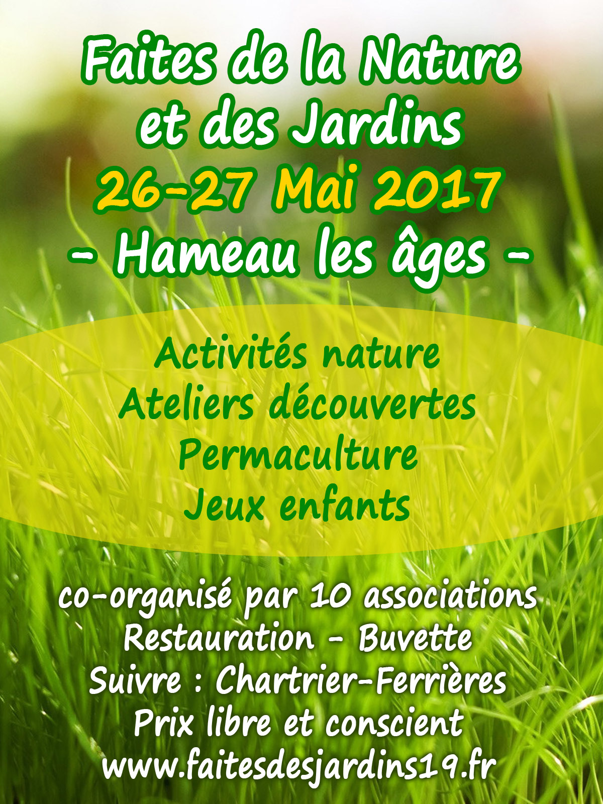 Fête de la Nature et des Jardins en Corrèze