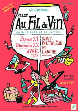 Salon des vins naturels de vignerons à St Pantaléon de Larche