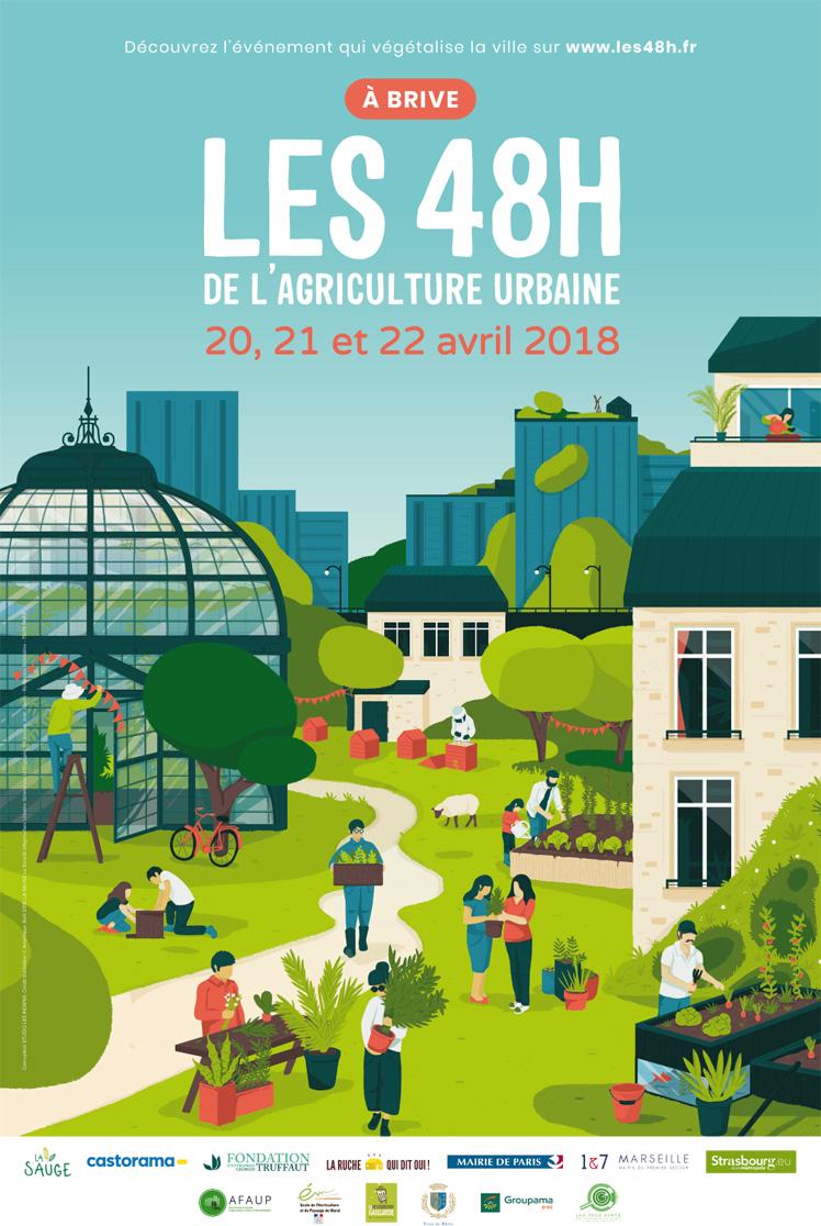Les 48h de l'agriculture urbaine à Brive : animations, ateliers, vélo, disco-soupe !