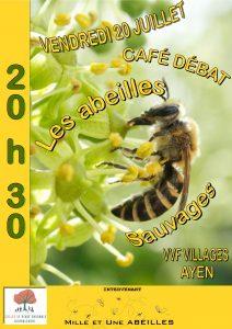 Café Débat sur les abeilles sauvages @ VVF D'Ayen