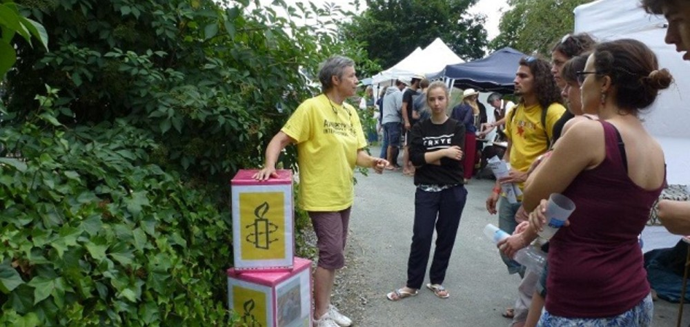 Amnesty Brive au festival Ecaussystème