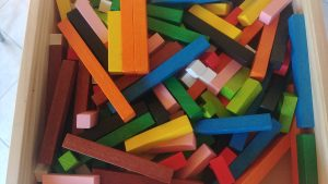 Barettes couleurs pour apprentissages Gattegno