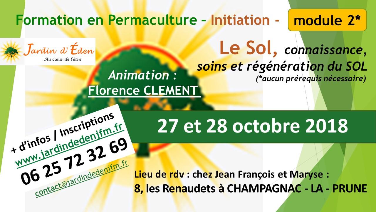 Second module de la formation complète en permaculture - le sol, soigner et régénérer