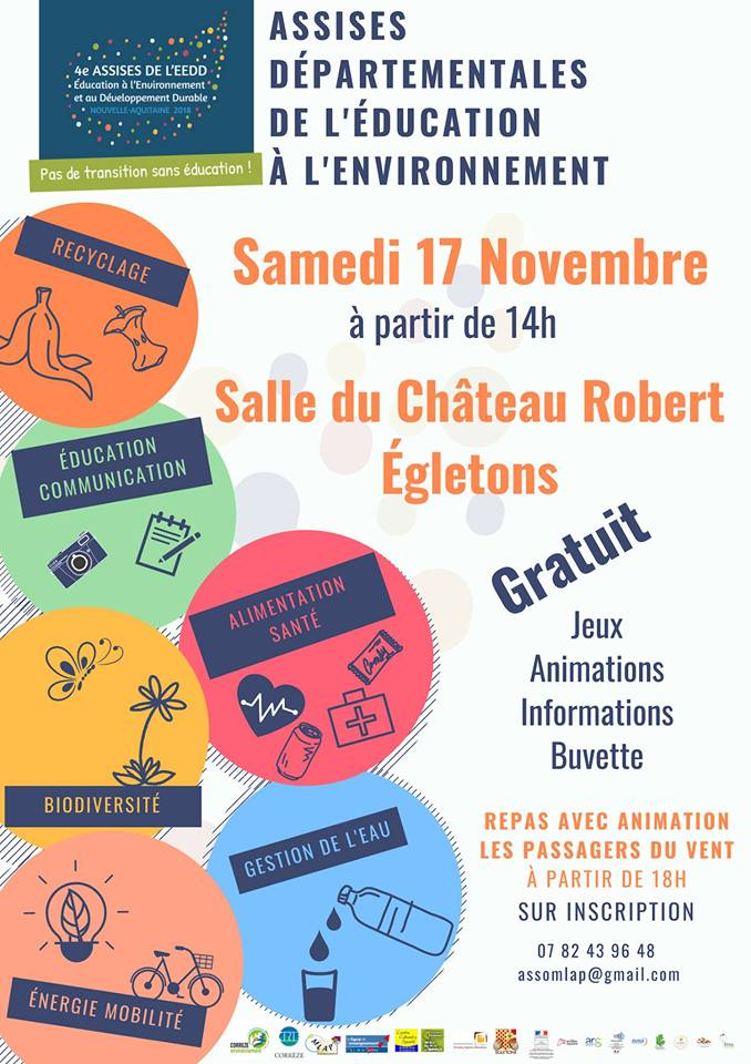 Assises de l'éducation à l'environnement - Egletons / Corrèze @ Chateau Robert