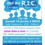 Conférence échange citoyen autour du R.I.C. (référendum d'initiative citoyenne)