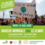 ACTION CLIMAT : les 15 et 16 mars à BRIVE (et en FRANCE)