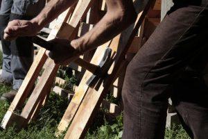 Construction de mobilier en bois de palette