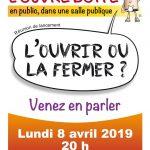 """Débats publics à Argentat - l'association """"L'ouvre Boite"""" lance le défi !"""