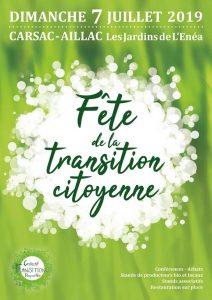 Fête de la Transition citoyenne à Carsac (24) @ Jardins de l'Enea