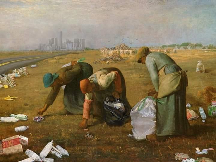 World clean-up day : courber dos et nuque pour nettoyer la planète