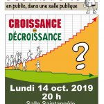 """Débat """"L'ouvre Boîte"""" à Argentat : Croissance ou décroissance ?"""