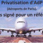 Droit au référendum =  servons-nous en pour la 1ère fois !!! (aéroports de Paris)