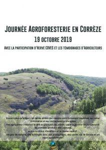 Journée Agroforesterie en Corrèze - 19 octobre 2019 @ Corrèze