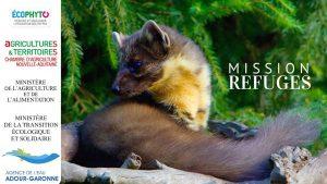 chantier participatif de construction de refuges à petits mammifères à Allassac