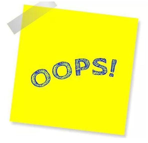OUP'S : demande d'excuse à propos d'envois en nombre !