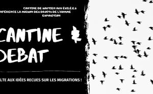 """Uzerche : Soirée cantine et débat : """"Solidarité migrants !"""" @ La P'tite Fabrique Solidaire"""