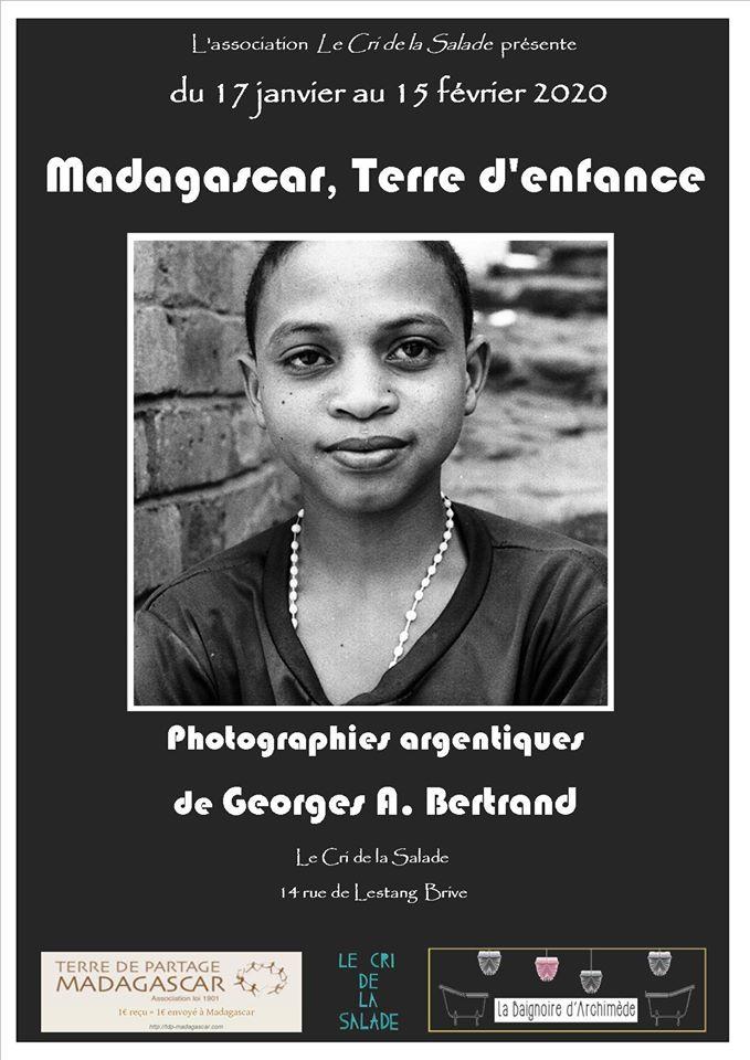 Exposition : Madagascar, terre d'enfance de Georges A. Bertrand @ Le Cri de la Salade