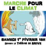 Marche pour le Climat le 1er février à Brive