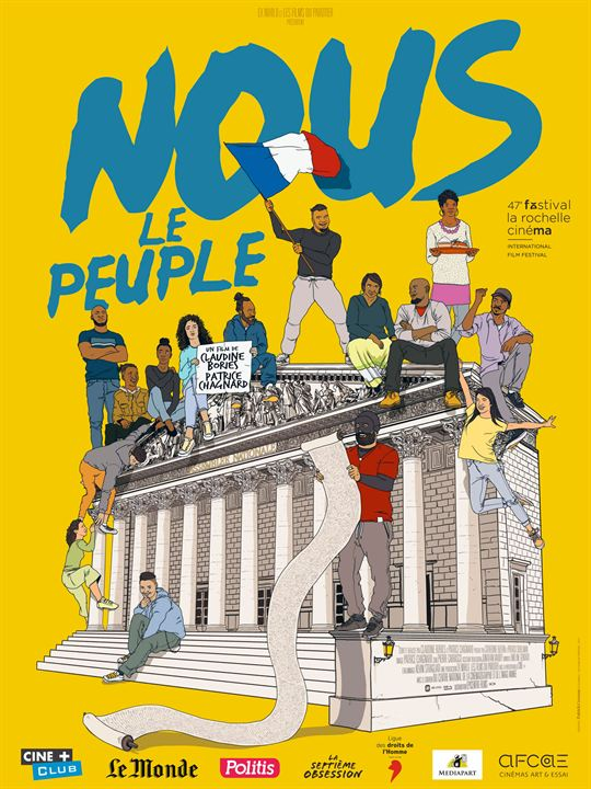 """Projection-débat du film : """"Nous le peuple"""" @ Cinéma Véo"""