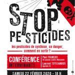 Conférence-débat : les pesticides de synthèse, un danger, comment en sortir?
