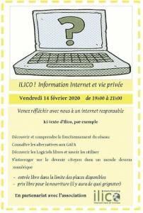 Concertation sur l'utilisation de l'internet de façon responsable