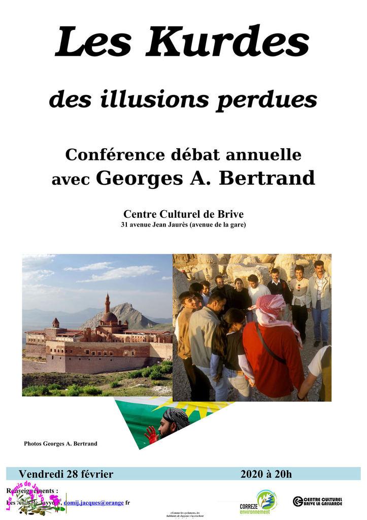 Conférence-débat : Les Kurdes, des illusions perdues @ Centre culturel