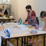 Ateliers de fabrication solidaire de masques = Tulle / Argentat / Beynat
