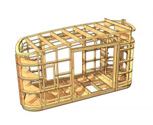 Construction d'habitat léger écologique et transportable (tiny house).