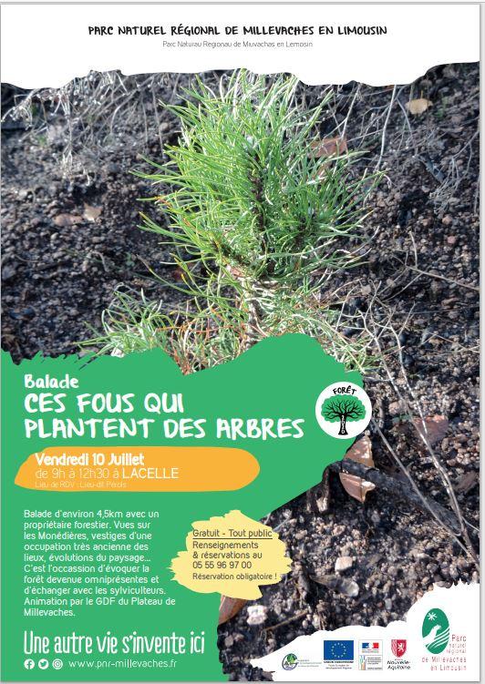 Balade nature : ces fous qui plantent des arbres @ Lieu dit Pérols