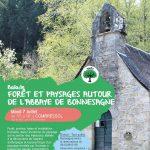 Balade Forêt et paysage autour de l'abbaye de Bonnesagne le 7-07