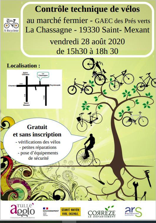 Contrôle technique de vos vélos @ Au marché fermier - GAEC des Prés vertsLa Chassagne