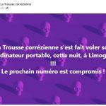 Ordinateur de la Trousse Corrézienne