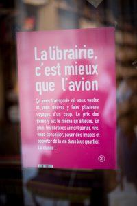 La librairie c'est mieux que l'avion !