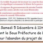 [Re] manifestation contre loi sécurité : Brive - samedi 11h