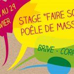 Stage construction poêle de masse 6 jours à Brive la Gaillarde