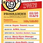 Le programme du Théatre de Tulle à 12h30 : musique, danse ...