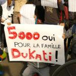 Attente de réponse pour la famille Dukati