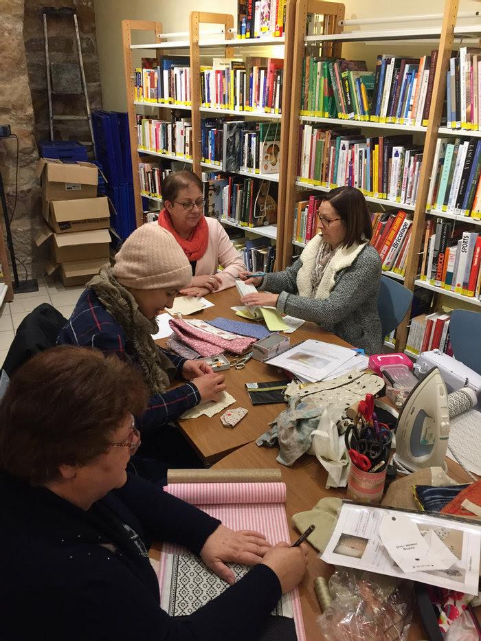 Atelier couture Adulte @ Médiathèque d'Ayen