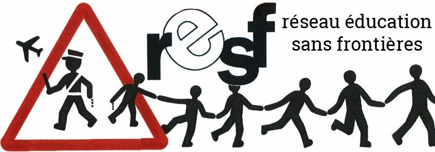Logo RESF réseau éducation sans frontières