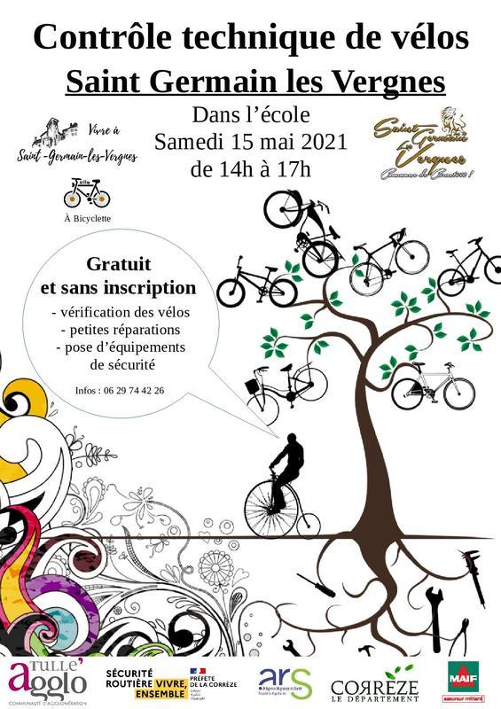 Contrôle technique de vos vélos @ Le Bourg