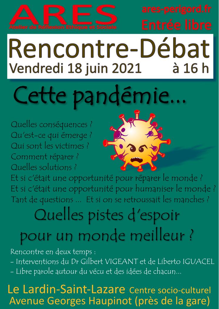 Rencontre-Débat @ Le Lardin-Saint-Lazare