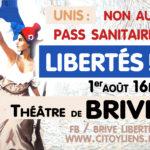 Manifestation dimanche à Brive : contre le pass-sanitaire (vaccin = libre choix)