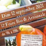 Foire Bio de Meyssac ce dimanche, le RV du bio en Sud Corrèze !